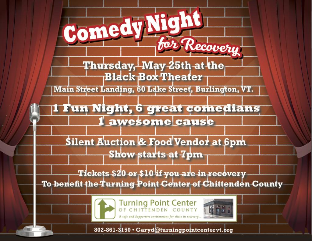 comedy night flyer