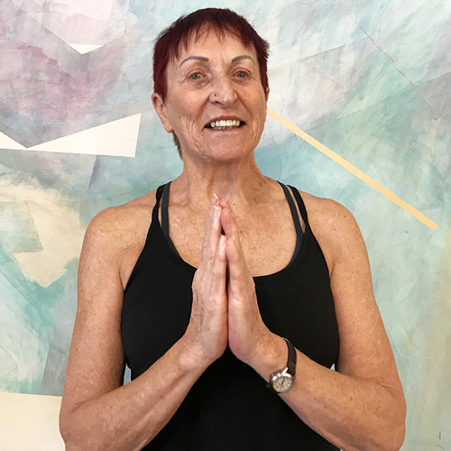 Turning Point Center Yoga instructor Eileen