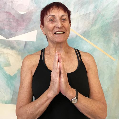 Turning Point Center Yoga instructor Eileen