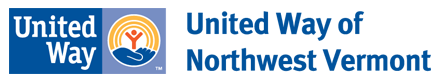 United Way of Northwest Vermont logo