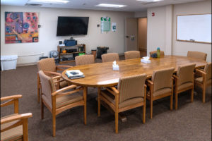 Conference room at the Turning Point Center