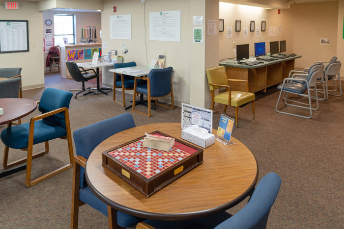 Turning Point Centers community room