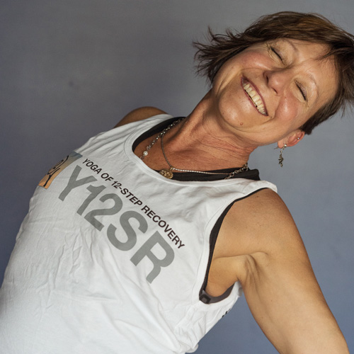 Krista yoga instructor at Turning Point Center