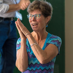 Meg yoga instructor at Turning Point Center