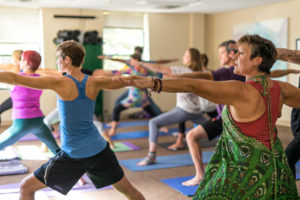 Recovery Community Yoga Session