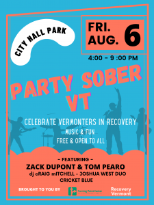 Party Sober VT poster